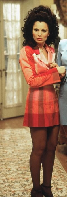 "Fran Drescher The Shades of Peach"" Blazer Dress Nanny Outfit, 90s Outfit, Fran Drescher, Nicholle Tom, Fran Fine Outfits, 90s Fashion, Vintage Fashion, Womens Fashion, Cheap Fashion"