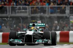 Lewis Chasing it during practice @ the F1 Canadian Grand Prix Montreal 2013