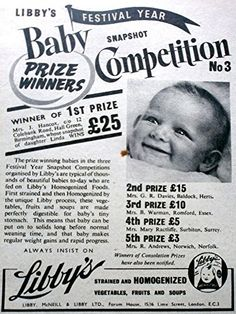 'Libby's Baby Food - Snapshot Competition' - A4 Glossy Pr…