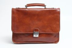 Mens Italian Leather Padova Double Compartment Laptop Messenger Bag 34c3319265151