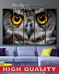 Wall Art with Owl