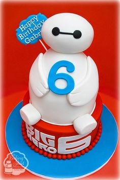 Big Hero 6 Baymax Birthday Party Food Ideas and Recipes,Big Hero 6 Baymax Birthday Party Cakes