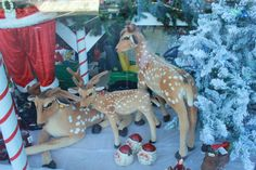 Deer Family Great Christmas Gifts, Great Gifts, Deer Family, Moose Art, Deck, Gift Ideas, Make It Yourself, Front Porches, Decks