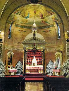 St. Joseph Byzantine Catholic church on Orleans Ave., Cleveland, Ohio, circa 1965.  I was baptized, confirmed and went to church and school, here.