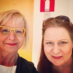 Mahtavaa tavata yksi idoli @elinafuturist #järvenpää #tulevaisuus #future #kiitos #keuke @keukesihteeri #koelento #bisnes #yrittäjät
