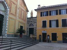 Via Albaro nel Genova, Liguria