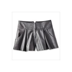 WARM-WEATHER LEATHER Spring Fashion Trends 2013 ❤ liked on Polyvore
