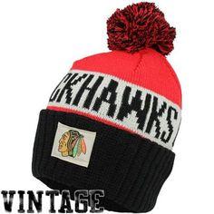 Old Time Hockey Chicago Blackhawks Merit Long Knit Hat
