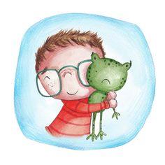 Jo De Ruiter - Frog Cuddle