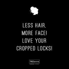 Wise Quote For Short Haired Girls Crop Short Hair Quotes Short