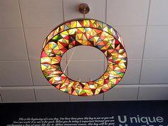 "2015 Online Art Glass Festival Lamps 2nd Place ""Unity Light"" by Kajetan Nowakowski"