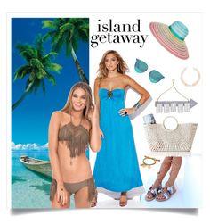 """Island Getaway"" by oliveraelisa ❤ liked on Polyvore featuring Brewster Home Fashions, Boohoo, Missoni, Mark & Graham, Pier 1 Imports, Venessa Arizaga, Meg Carter Designs and Luli Fama"