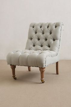 Linen Orianna Chair - anthropologie.com