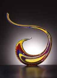 Snaky creation for the beautiful home decoration by #Jack #Storms, the famous #glass #artist