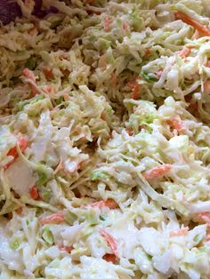 John's Coleslaw i would go with horseradish sauce in stead of miracle whip. Don't you think?