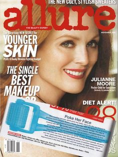 As seen in Allure. . . Poke Her Face! Redefine AMP MD Micro=Exfoliating Roller