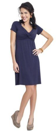 Amazon.com: Angel Contemporary Knot Pregnancy and Nursing Lounge Dress: Clothing