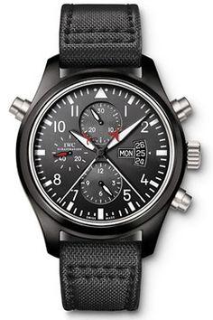 IWC Pilots Watch Double Chronograph TOP GUN