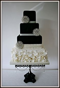 Black cake. Beautiful.