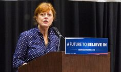 Sanders supporting actress Susan Sarandon: Hillary will be indicted