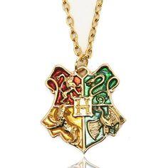 10 Adet/grup Harry Potter Kolye Anime Hogwarts Okul Rozeti Kolye Kolye Harry Potter Hogwarts Rozet Kolye Kolye