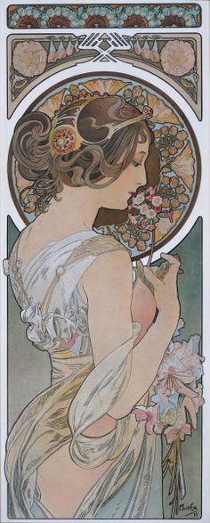 Vanaf 21 maart: Alphonse Mucha, Meester van de Art Nouveau