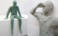 Quando cacos de vidro quebrados se transformam em esculturas sensacionais