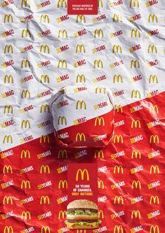 McDonald's Print Ad - Big Mac - Packed in History - 2005