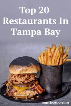 Are you looking for the top affordable restaurants in Tampa Bay? Here's a list of our top restaurants in Tampa Bay that aren't major chains. Tampa Bay Florida, Florida Food, Tampa Bay Area, Naples Florida, Florida Vacation, Florida Travel, Florida Beaches, Clearwater Florida, Beach Travel