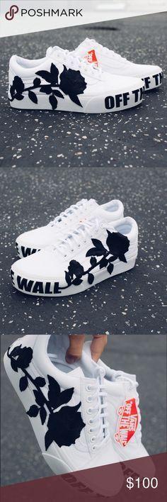Vans platform white custom NEW vans old skool platform shoes. Size 7 MEN, WOMAN,… - http://sorihe.com/mensshoes/2018/02/20/vans-platform-white-custom-new-vans-old-skool-platform-shoes-size-7-men-woman/