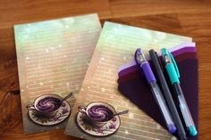 Whether youre a tea or a coffee drinker, write letters to your penpals on this modern stationery with a cup of your favorite beverage! *Shipping is