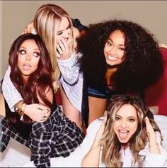 """New pictures from Little Mix's new book titled """"Our World"""""""