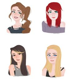 5sos as girls<<< OH MY GOD I LOOK LIKE THE MICHAEL GIRL<<i look exactly like the ash girl<<I look like the Calum girl!!!!!>> I look like the Ashton girl<<I am a mix of calum and Ashton with the Luke's girls eyes<<