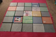 DIY Basic T-SHIRT QUILT Tutorial- Part 1 - Totally Stitchin