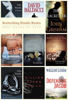Best Kindle books of 2012: Sylvia Day twice, Jennifer Probst, David Baldacci, and, you know, the lady in grey