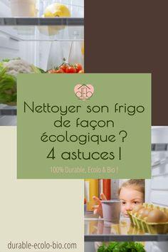 Nettoyer son réfrigérateur avec des produits naturels, c'est possible! Voici tous nos conseils et recettes pour un frigo nettoyé et désinfecté en mode écolo. Pin, Voici, Cleanser, Sodium Bicarbonate