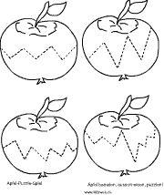 Apfel Vorlage | ausmalbilder | Vorlagen, Malvorlagen ...