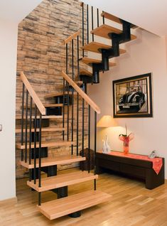 and the stairs in your home! Small Staircase, House Staircase, Staircase Remodel, Staircase Makeover, Home Stairs Design, Interior Stairs, Home Interior Design, Staircase Design Modern, Modern Stairs