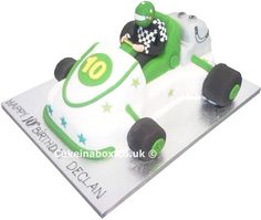 Awesome go kart cake ideas
