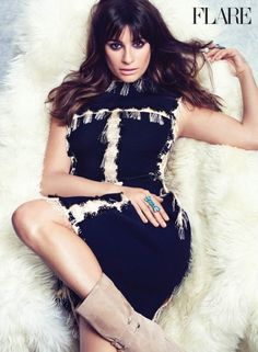 October Cover Star Lea Michele Wants to Fix Your Life (Photo: Nino Muñoz)