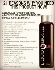 Liquid Biocell!! Everyone needs this!! #liquidcollagen #jointhealth #healthy #hairgrowth #healthyhair #healthyskin #antiaging #modere #increasedenergy #energy