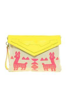 #Animal #Neon #Clutch #FashionCherry #Fashion