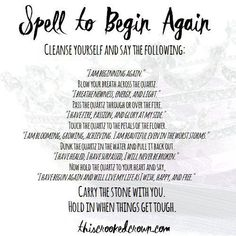 Spell to Begin Again by This Crooked Crown
