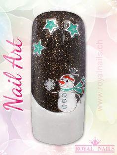 Christmas - Weihnachten Nail Art Design Inspiration Nr. 274 #christmas #weihnachten #santa-claus #nail-art #nailart #winter-holidays