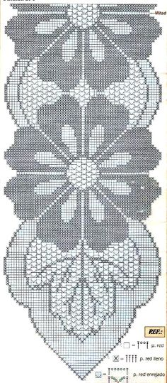 """""""Top interior design programs you can attend - Crochet Filet"""", """"This post was discovered by şer"""", """"No pattern just for inspiration…. Filet Crochet, Crochet Motif, Crochet Doilies, Crochet Flowers, Crochet Stars, Thread Crochet, Crochet Stitches, Crochet Table Runner Pattern, Crochet Tablecloth"""