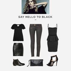 Say hello to #Black #Zalando