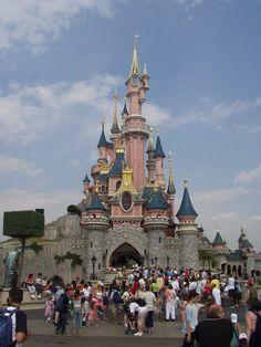 """Disneyland Paris – Le Château de la Belle au Bois Dormant (literally """"the Castle of Sleeping Beauty"""")"""