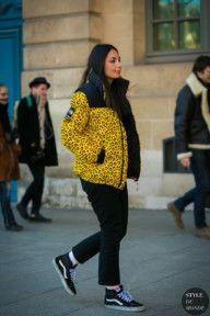 STYLE DU MONDE / Paris Men's Fashion Week Fall 2017 Street Style: Laetitia Paul  // #Fashion, #FashionBlog, #FashionBlogger, #Ootd, #OutfitOfTheDay, #StreetStyle, #Style