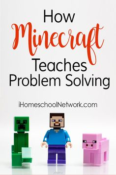 How Minecraft Teaches Problem Solving Skills to Kids of All Ages Logic Math, Homeschool Math, Homeschooling Resources, Art Education Projects, Coding For Kids, Math Activities, Educational Activities, Art Lessons Elementary, Problem Solving Skills