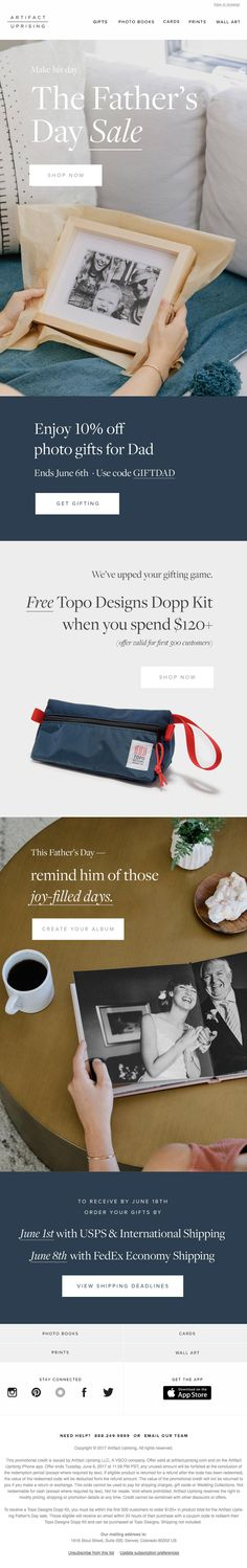 It's Here: The Father's Day Sale